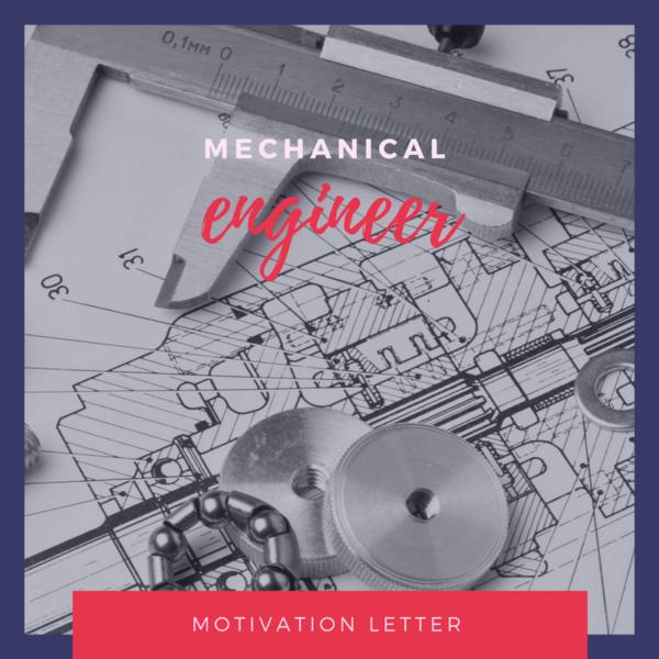 Motivation letter sample for Bachelor of mechanical engineering